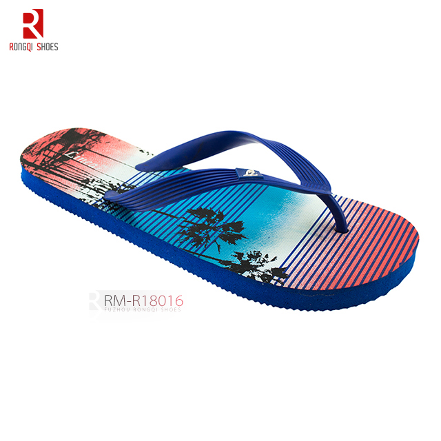 Cheap soft EVA outsole and upper foam slider wholesale customized flip-flops