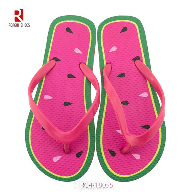 Fruit cheap wholesale children's flip flop