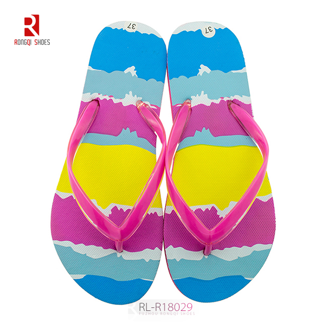 Cheap pe slider women flip flop