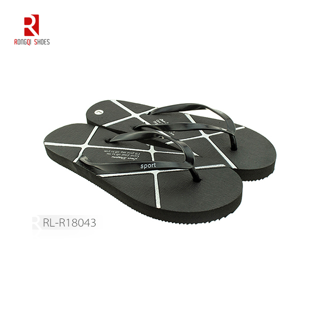 Manufactory cheap pe women flip flop