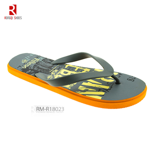 Customized logo beach men's EVA outdoor flip flop