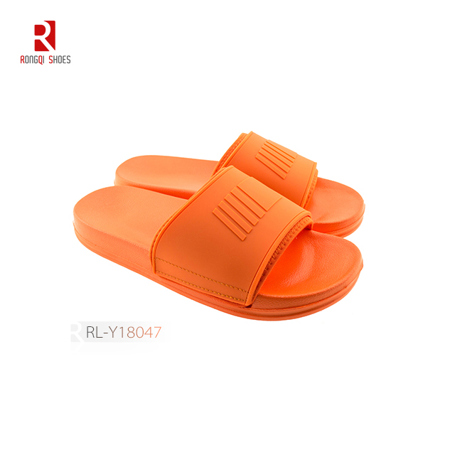 Wholesale fancy outdoor and indoor women EVA slides with logo and print customized