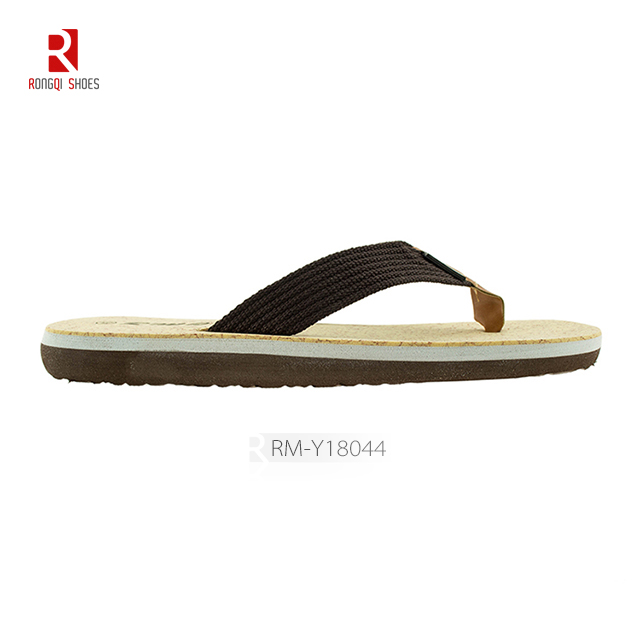 Wholesale beach slippers customized men flip flops